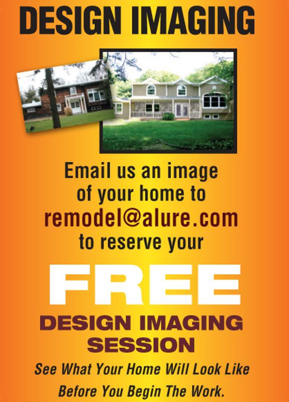 Free exterior design imaging sessions.