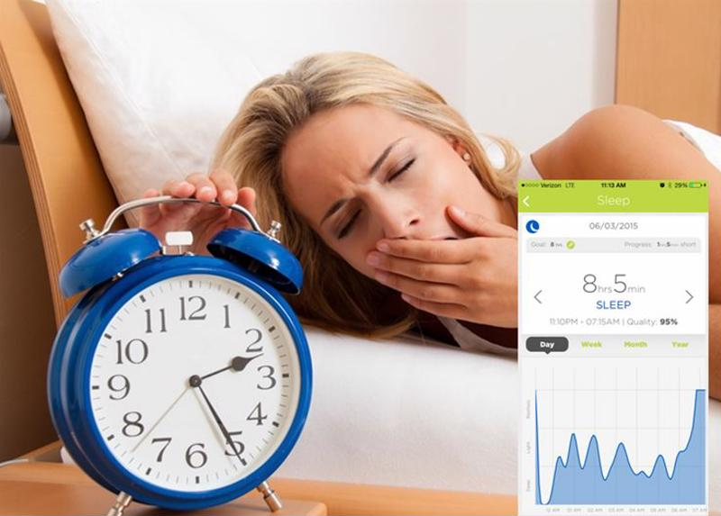 When you haven't gotten a good night's sleep, your nuyu™ Activity Monitor will know it.