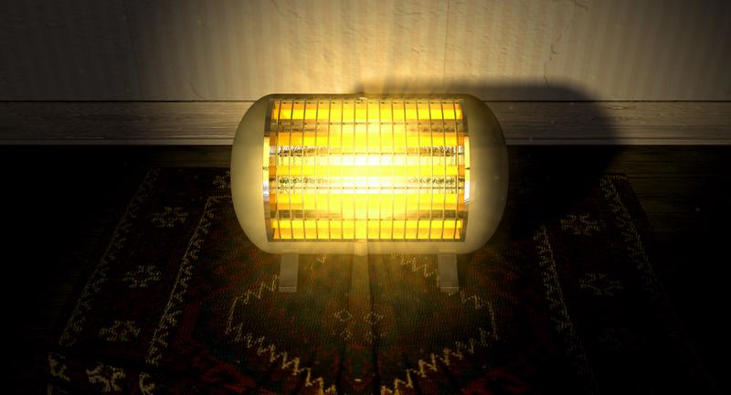 Don't be hypnotized by its warm glow. A space heater could be costing you big bucks.