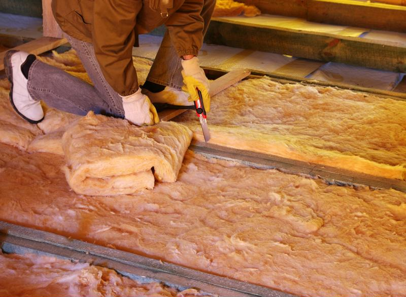 Installing new insulation can help your home retain heat during winter.