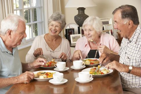 Joining a retirement community will surround seniors with friends in an engaging environment.