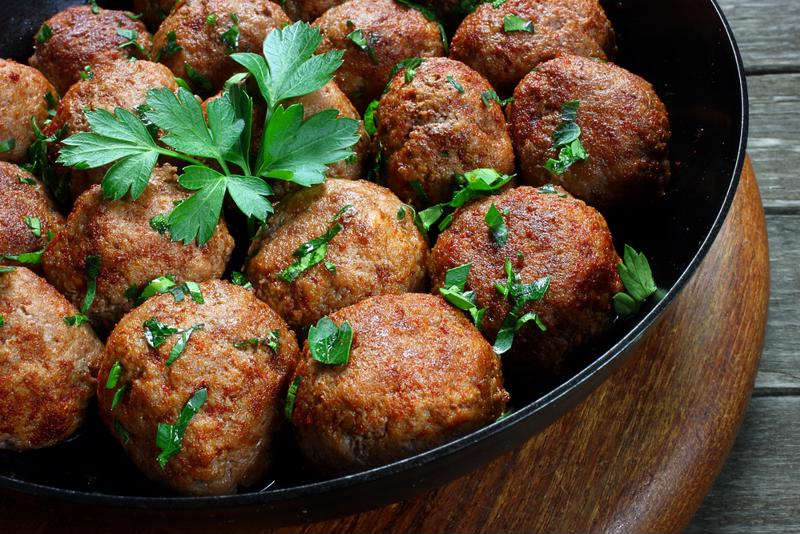 Slow cook meatballs with honey for extra zesty flavor.