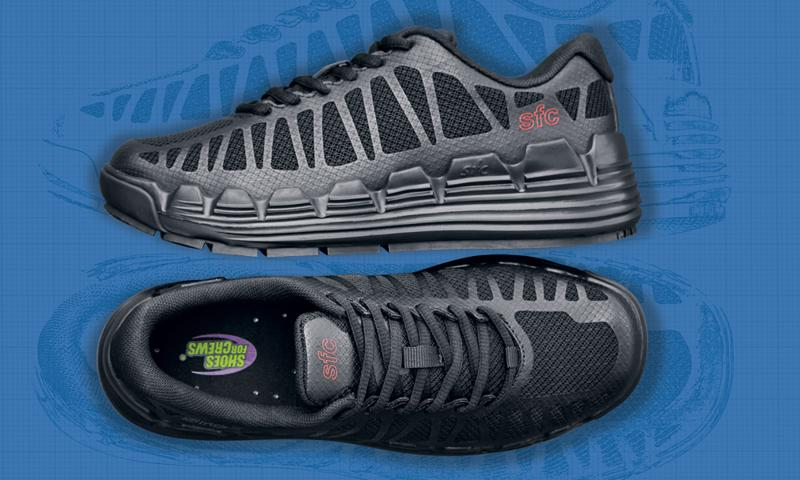 Marathon shoes tell people that you can go the distance.