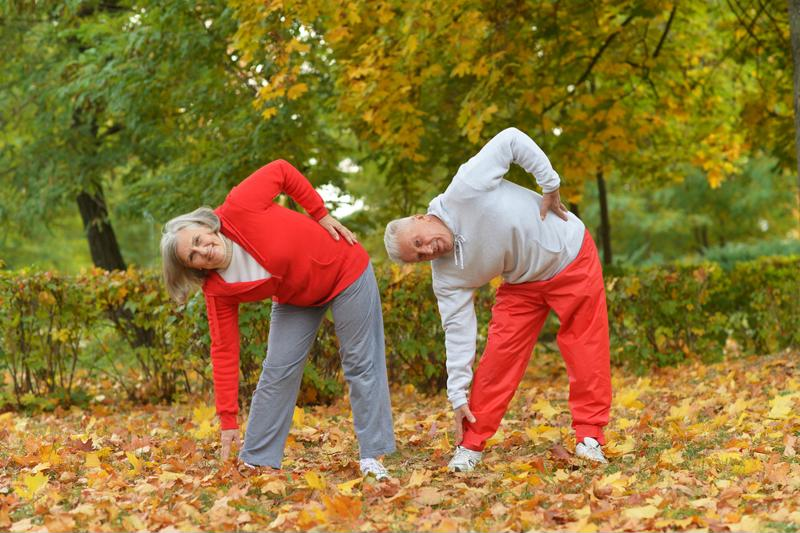 Staying active is one great way to stave off sarcopenia.