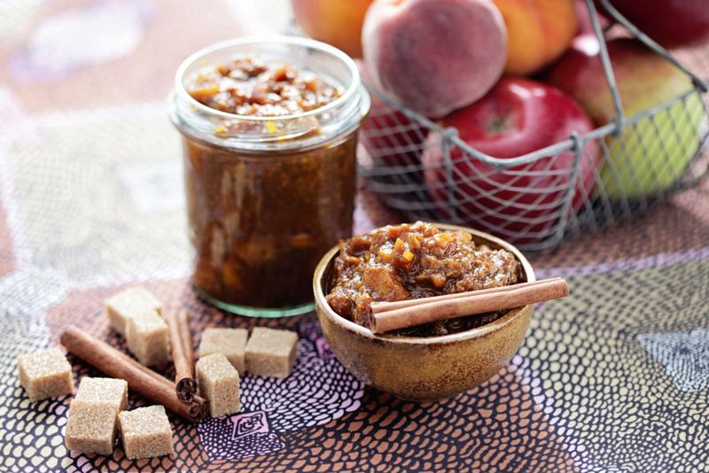 Spiced apple chutney is perfect for leftover-turkey sandwiches.