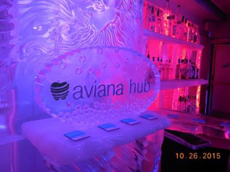 A picture from Aviana Hub's launch event in Las Vegas.
