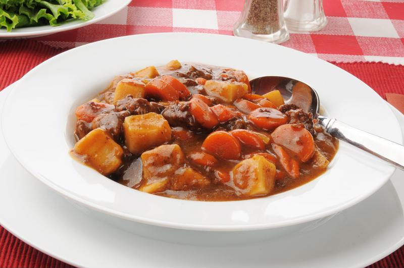 A hearty stew is perfect for chilly late-autumn evenings.