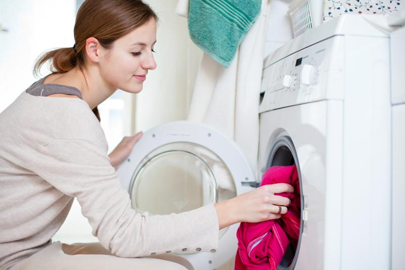 Washing your clothes in cold water and keeping your dryer's lint filter clear are two easy ways to save energy.