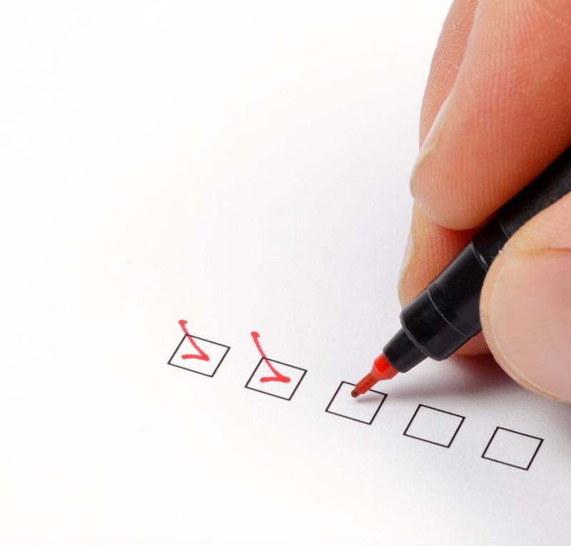 There are plenty of boxes to check off before moving into an accreditation process.