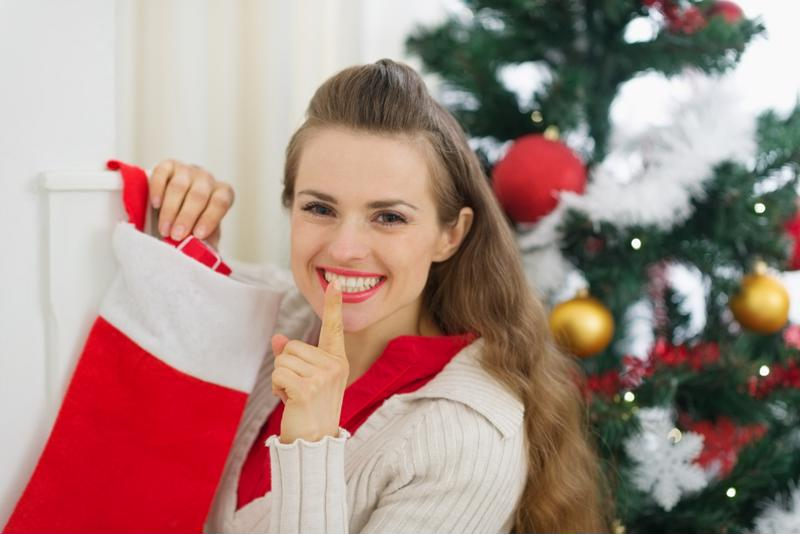 Buying your stocking stuffers online allows you to skip the chaos of department stores and lower your holiday stress.