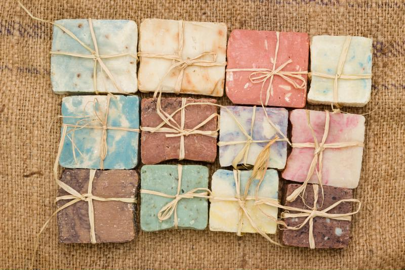 For a more personal touch, make your soap any color you like.