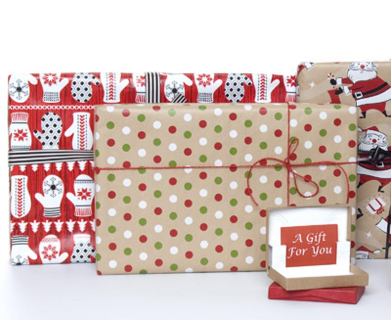 Gift wrap service is an excellent way to add value to your brand.