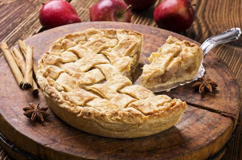 Fresh baked caramel apple pie will create an irresistible aroma in your home.