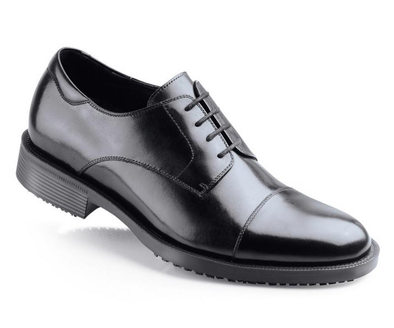 The Senator is a stylish take on the steel-toed shoe.