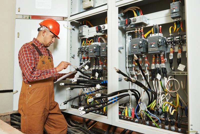 Employers must call for extreme caution when working on electrical equipment.