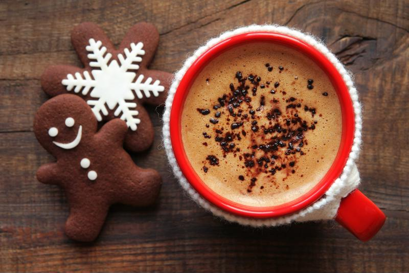 Homemade gingerbread, meet homemade gingerbread latte.