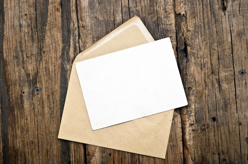 Keep a stack of greeting cards and thank you notes on hand during the holidays.