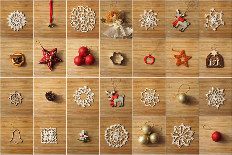 Small decorations can be sealed into a single package.