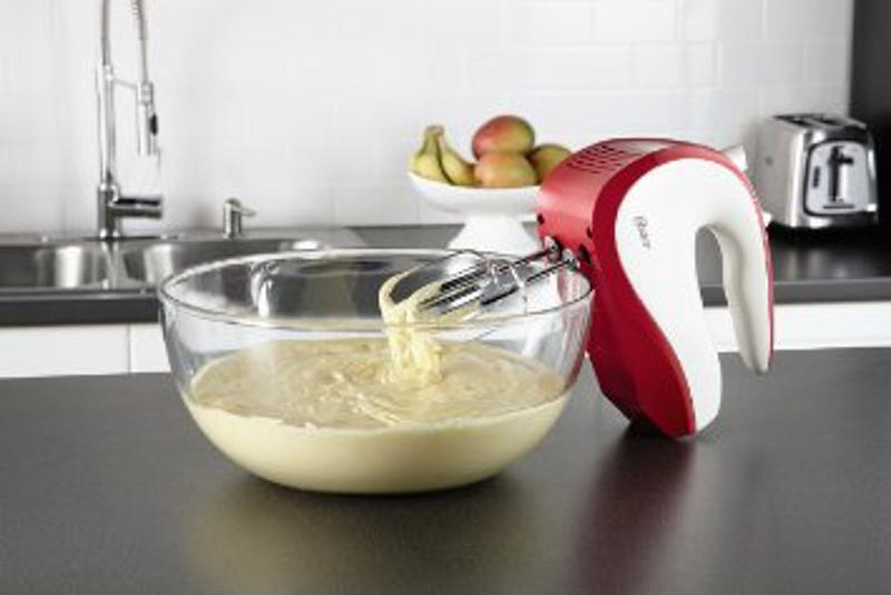 Whip up dozens of treats in your kitchen with a helpful hand mixer.