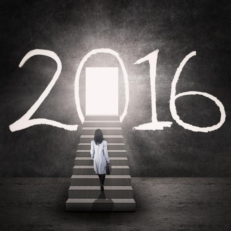 With 2016 fast approaching, it's time to think of some New Year's resolutions - both professional and personal.