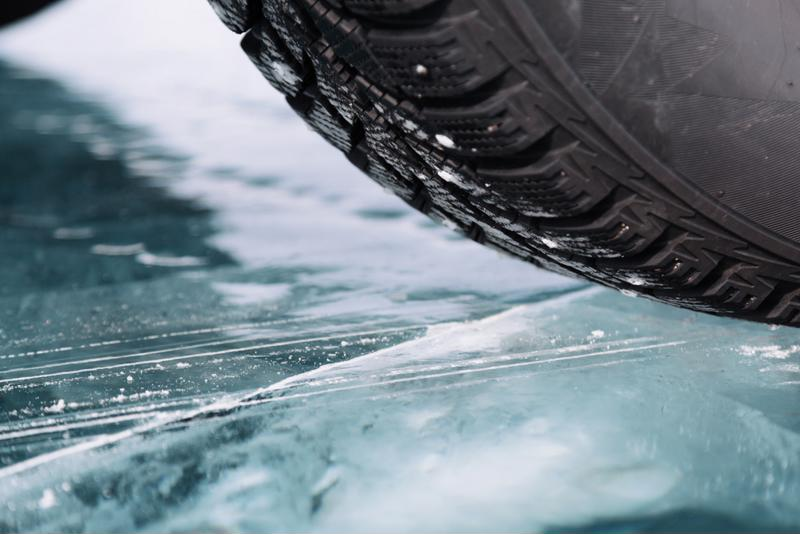 Winter ice can result in car wrecks.