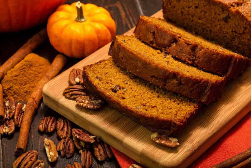 Leftover pumpkin is easily turned into delicious bread.