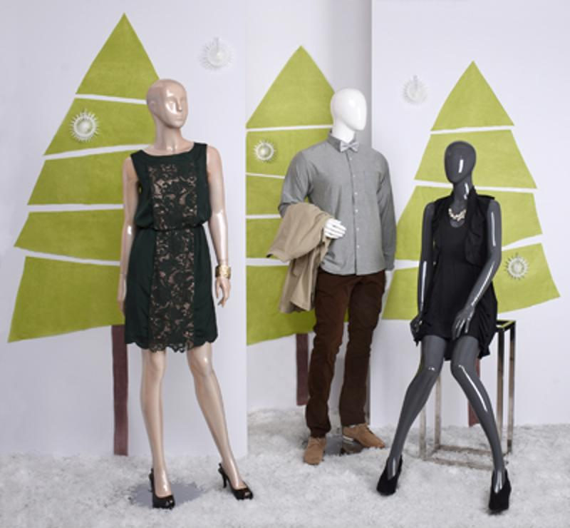 Populate your window display with our sleek mannequins.