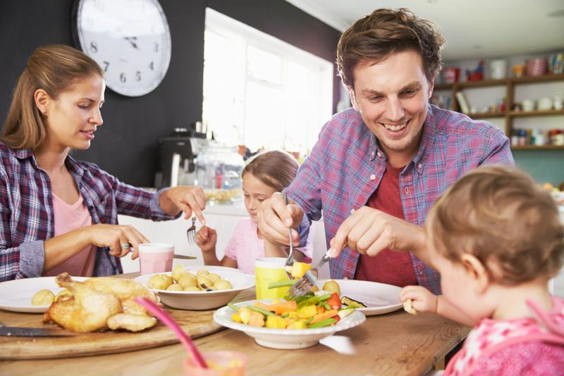 Planning meals in advance means more time to spend with your family.
