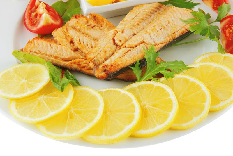 Lemon slices will give your fish a zesty kick.