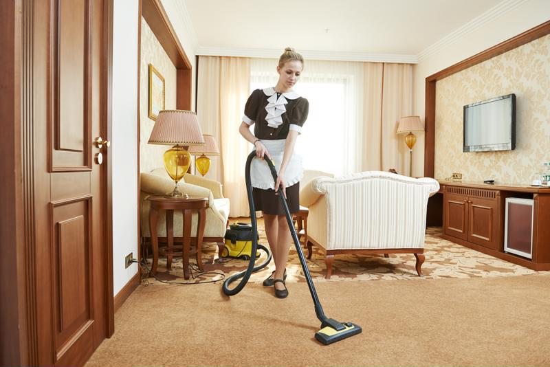 An overextended reach while vacuuming or mopping could cause chronic pain over time.