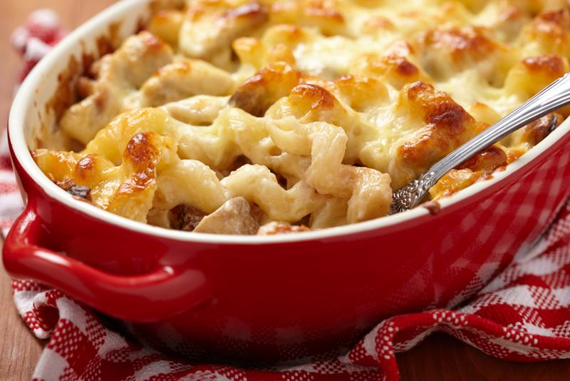 Mac and cheese is the ultimate comfort food.
