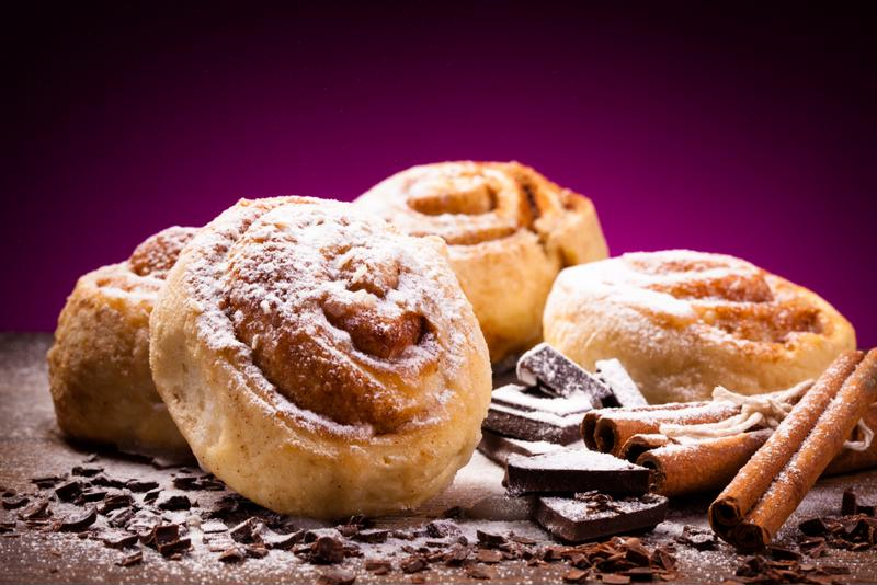 Cinnamon buns with an extra coffee kick with make your brunch truly memorable.