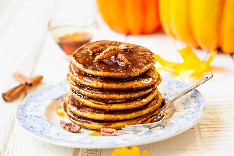 You're going to want to make a big batch of these delicious pancakes.
