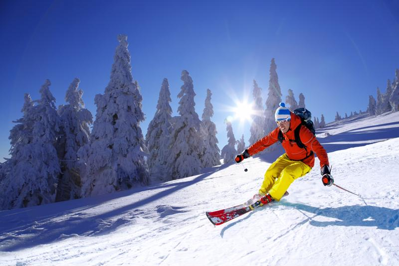 A long day of hitting the slopes can cause a lot of aches and pains.