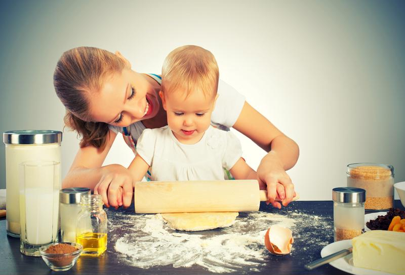 Your little ones will be thrilled to help out in the kitchen.