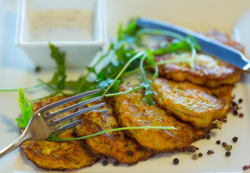These tasty fritters will satisfy your cravings.