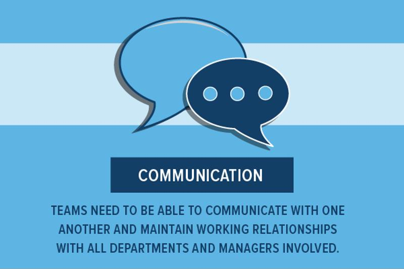 The most important part of working together in a DevOps team is communication.