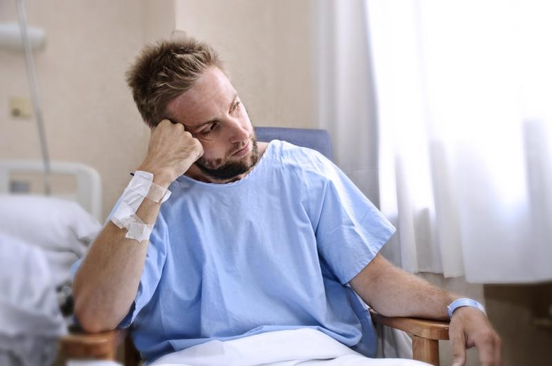 If a patient appears to be upset or disgruntled, take extra precaution.