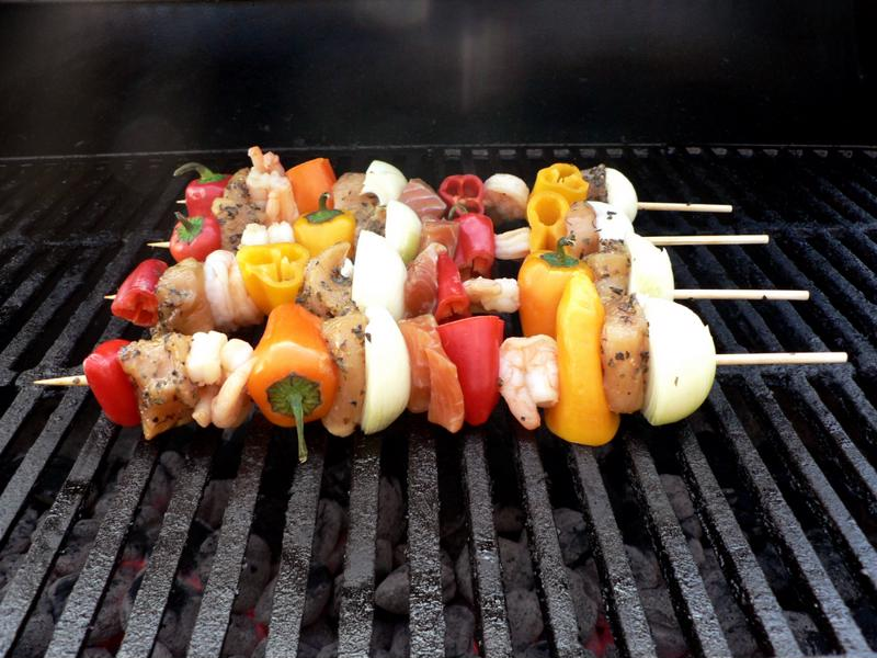 Don't forget the grill and tailgating food!