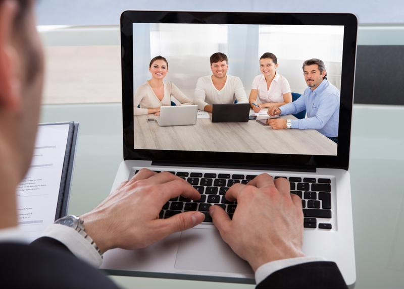 Video conferencing solutions can help ensure that remote employees stay in the loop.