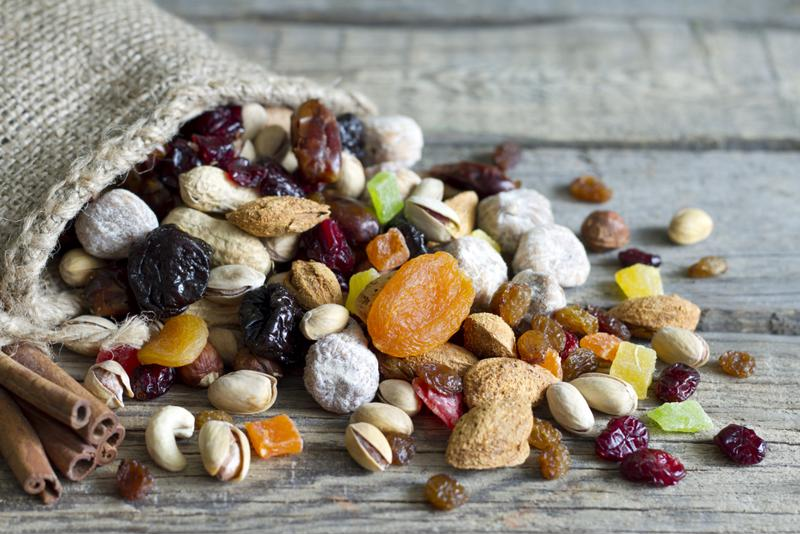 Add your cinnamon sugar almonds to a trail mix for extra flavor.