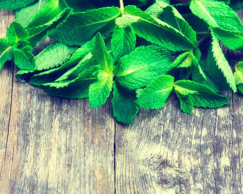 Mint is the perfect natural flavoring.