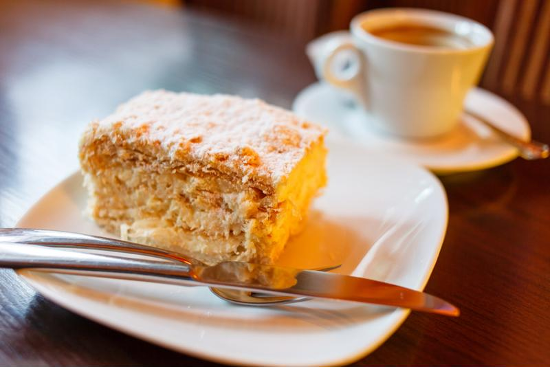 Coffee cake is a great way to celebrate a field goal.