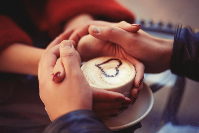 Coffee tastes best when it's shared with the one you love.