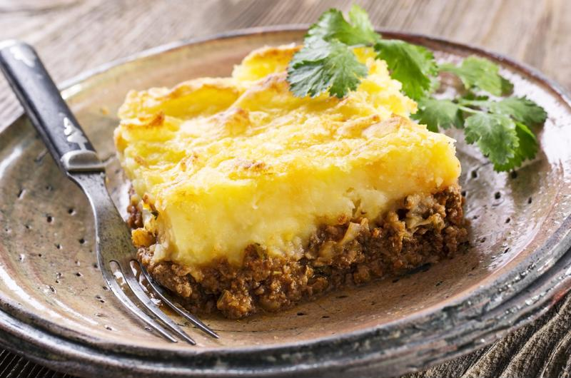 Shepherd's pie is one of the best comfort foods during a snow storm.