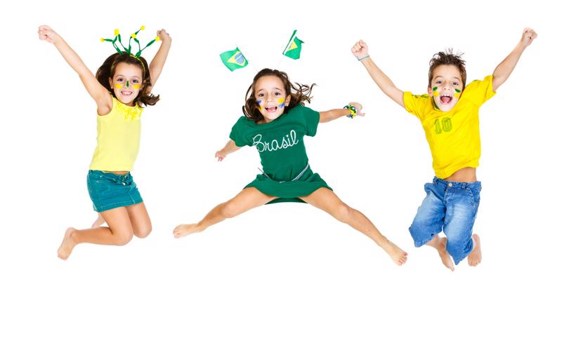 Rally the kids to represent their favorite country in the mini Olympics.