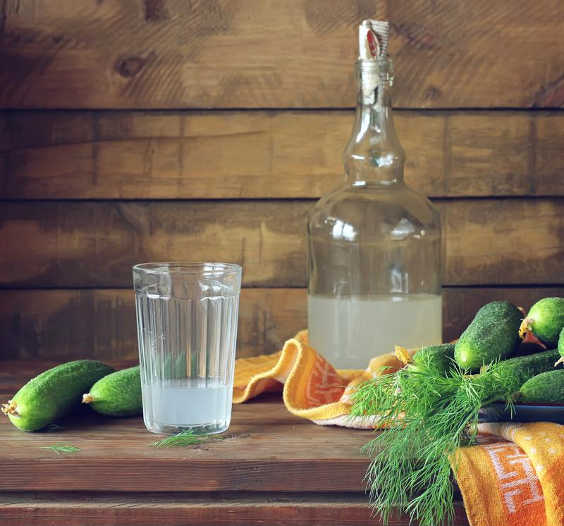 You can even use a cucumber moonshine to enhance your cocktails.