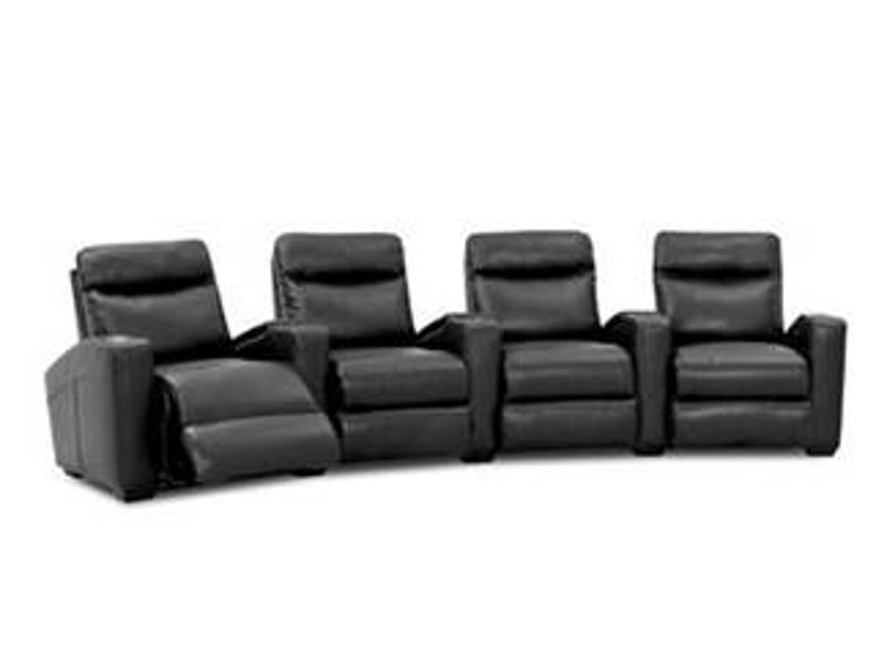 Stylish and cozy theater seating will enhance both the comfort and appearance of your home theater.