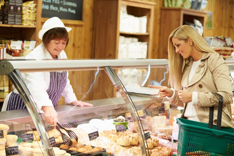The deli counter is a key point of contact between the store and the shopper.