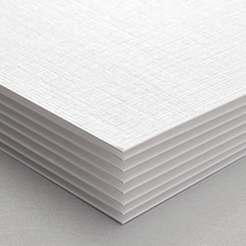Textured linen.
